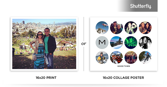 SHOWCASE YOUR FAVORITE MEMORIES WITH A FREE COLLAGE POSTER OR PRINT